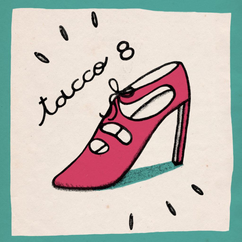 tacco 8 Ninas Drag Queens Sorellanza