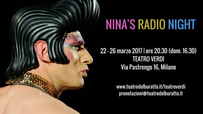 Il ritorno di NINA'S RADIO NIGHT a Milano!